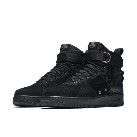 Cheap New Arrivals Mens Nike Men Sf Air Force 1 Mid (dark