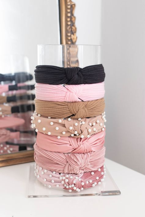 The Best & Prettiest Vanity Organizers | Headband Organizer | Embellished Headbands – Money Can Buy Lipstick