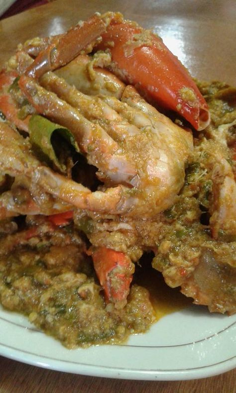 Cara Memasak Kepiting Pedas : memasak, kepiting, pedas, Kepiting, Ideas, Food,, Indonesian, Seafood