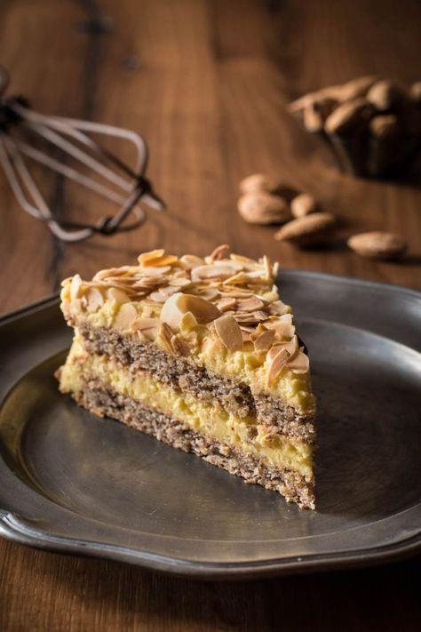 Schwedische Mandeltorte Zum Dahinschmelzen Kleines Kulinarium Em