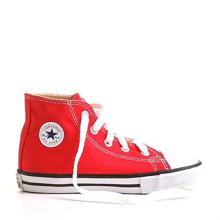 Tenis Converse All Star Infantil Ct Core Hi Vermelho Converse Chuck Converse Converse All Star