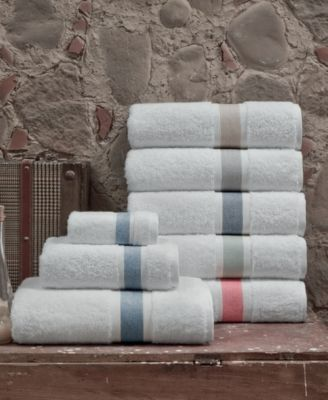 Enchante Home Unique 6 Pc Turkish Cotton Towel Set Bedding