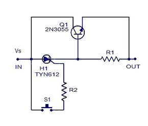 Simple Electronic Fuse Electronics Circuit Circuit Diagram Simple Electronic Circuits