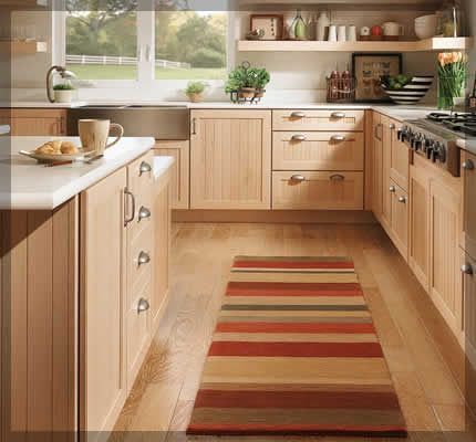 Light Wood Cabinets With Lighter Counter Would This Look Good Darker Floors