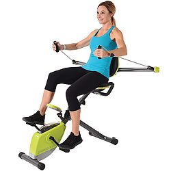 Cool Versatile Stationary Bike Features Upper Body Resistance Creativecarmelina Interior Chair Design Creativecarmelinacom