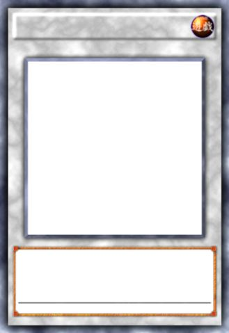 Yugioh Card Template Yu Gi Oh Template Transparent Png Within Yugioh Card Template Trading Card Template Baseball Card Template Card Template