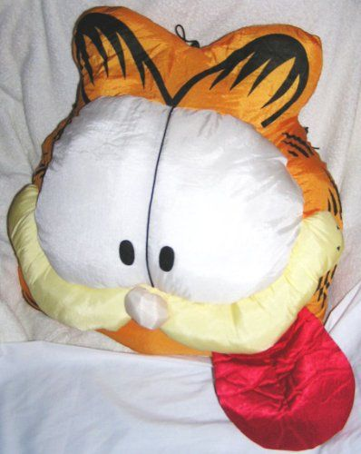 Robot Check Face Pillow Garfield And Odie Garfield