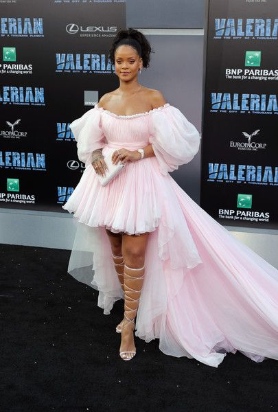 Rihanna in Giambattista Valli Couture at the 'Valerian and the City of a Thousand Planets' Hollywood Premiere - The Most Daring Red Carpet Gowns of 2017 - Photos