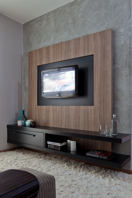Muebles Para La Sala Sofas Para Sala Lamparas Para Sala De Estar Centros De Entretenimiento Para Floating Shelves Bedroom Living Room Tv Wall Living Room Tv