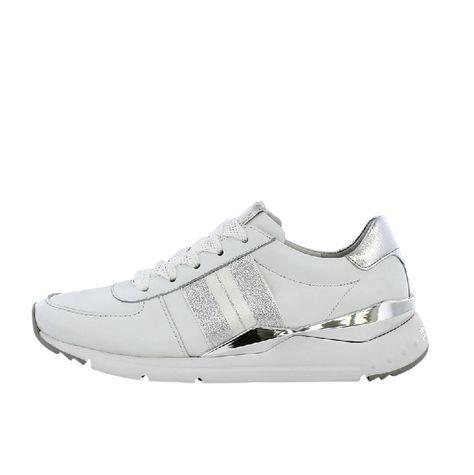 Weiße Damen Sneaker aus Leder von Kennel & Schmenger 721116