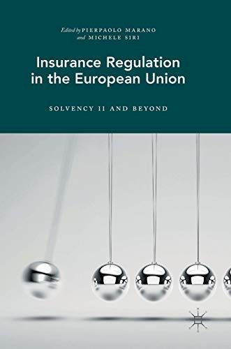 Download Pdf Insurance Regulation In The European Union Solvency