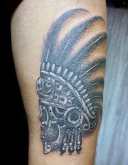 Top 77 Aztec Tattoo Ideas 2020 Inspiration Guide Aztec Tattoos