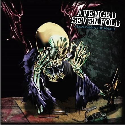 Avenged Sevenfold Diamonds In The Rough Colored Vinyl 2lp In