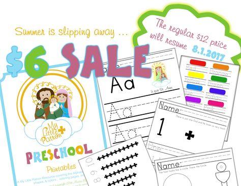 Catholic Preschool Printables Catholic Parenting