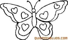 Resultado De Imagen De Alas De Mariposa Para Colorear Mariposas Para Colorear Dibujos Para Colorear Mariposas Dibujos Faciles De Corazones