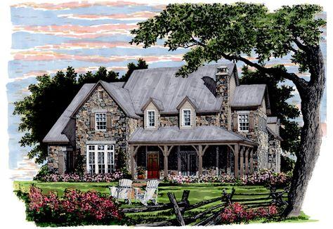 Lavendale Rendering Craftsman House Plans Southern Living House Plans Southern House Plans