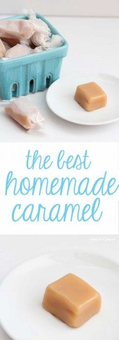 Homemade caramel, to me, means the holidays. Sure, this can start as early as Halloween, but I have vivid memories of my mom making this at Christmas – time. #amongtheyoung #dessertrecipes #caramel #christmastradition #homemadecaramel #yumrecipe