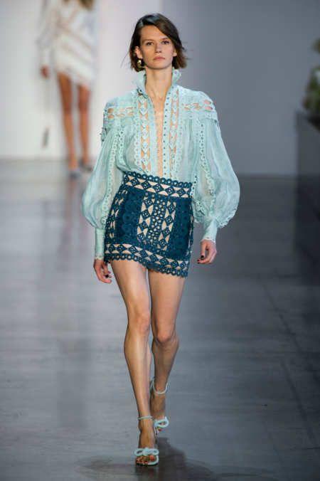 Zimmermann at New York Fashion Week Spring 2019 - Runway Photos
