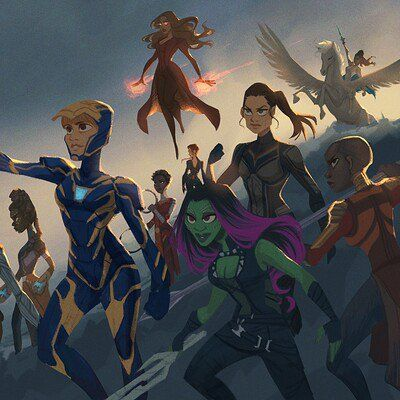 Women of Marvel - Endgame fanart, Jenna Mueller