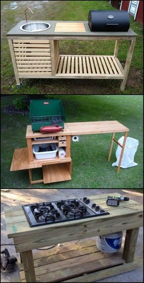 You Don T Need An Expensive Full Size Outdoor Kitchen It Just Has