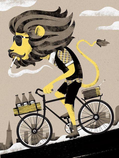Прикольные картинки со старушками на велосипеде