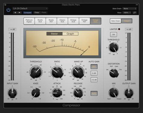 Logic Pro X Plugins: Compressor Circuit Types Demystified