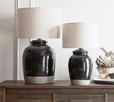 Miller Ceramic Table Lamp Base Black Ceramic Table Lamps Table Lamp Base Table Lamp
