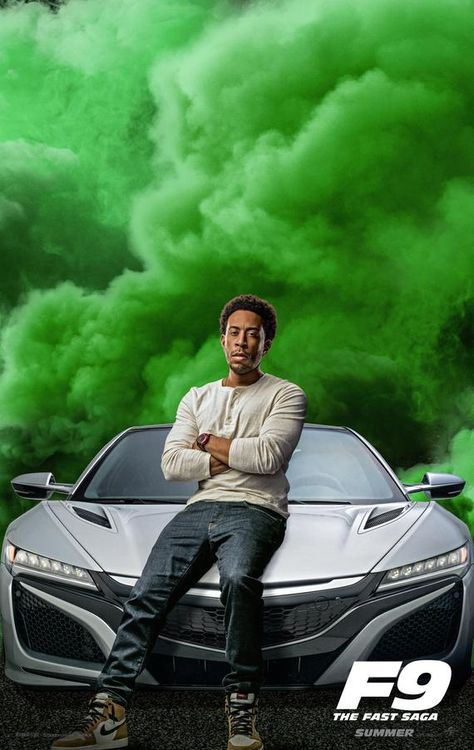 Poster F9 Fast Furious 9 Tej Parker Ludacris In 2020 Movie Fast And Furious Fast And Furious Streaming Movies