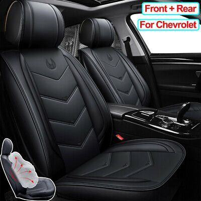 Details About Pu Leather Car Seat Covers Seat Cushion Fit For