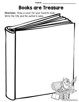 Books Are Treasure Activity Sheet Book Care Book Care Book Themed Activities World Book Day Activities