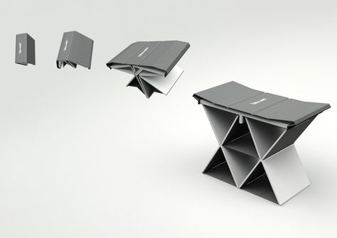 Open Book, Get Chair - I could use one of these.