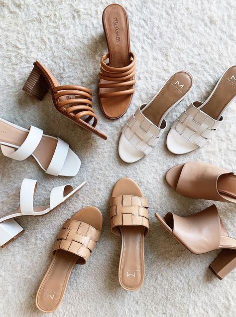 Shoes | Schoenen | Hakken | Heels | Sandals | Sandalen | Blokhak | Brown shoes |...