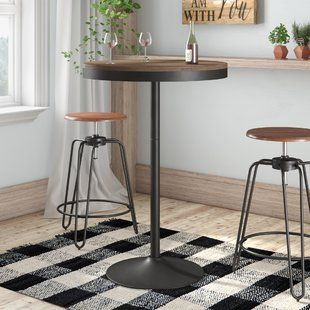 Fabulous Height Adjustable Bar Table Wayfair Co Uk Bar Stands And Download Free Architecture Designs Estepponolmadebymaigaardcom