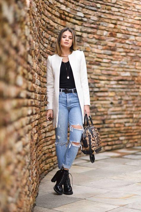 10 Outfits Con Jeans Que Toda Ideas