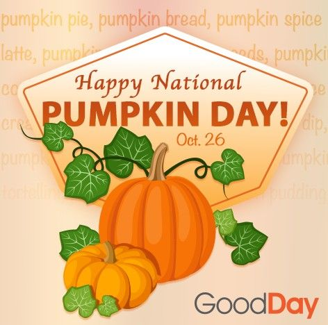 Happy National Pumpkin Day Did You Know That There Are Over 45 Different Varieties Of Pumpkin They Can Be Grown On Every Con Eat Pumpkin Spice Latte Healthy