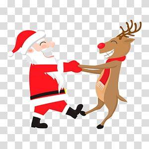 Rudolph Santa Claus Reindeer Hoodie Wedding Invitation Santa Claus With Deer Transparent B Deer Illustration Birthday Illustration Happy Birthday Illustration
