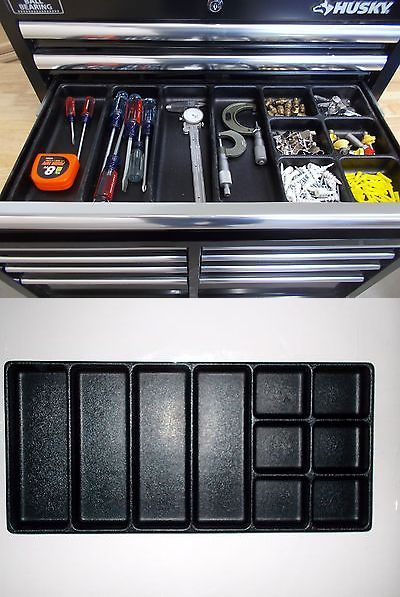 Other Tool Storage 42633 Husky Tool Box Drawer Organizer 10 Compartment Buy It Now Only 38 5 On Ebay Husky Tool Box Tool Chest Organization Tool Storage