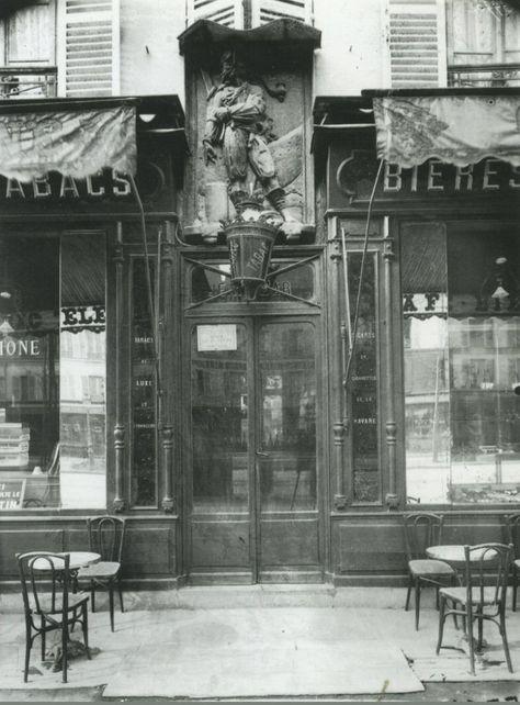 Cafe A Jean Bart 38 Avenue De La Motte Picquet 1911 Photography Eugene Atget Photos Anciennes Vieux Paris Paris