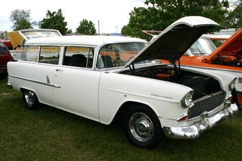 1955 Chevy Truck 1955 Chevy Handyman Station Wagon Chevrolet