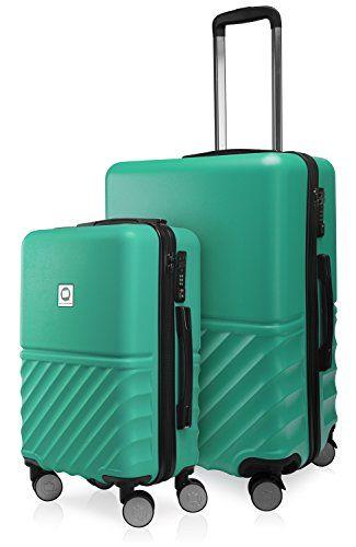 la moitié 81fd7 3755a HAUPTSTADTKOFFER - Boxi - Set de 2 valises de Voyage, Taille ...