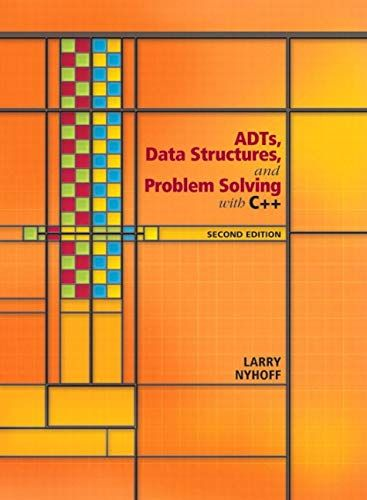 Download Pdf Adts Data Structures And Problem Solving With C Free Epub Mobi Ebooks Data Structures Problem Solving Solving