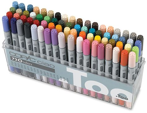 Copic Ciao Double Ended Marker Sets - BLICK art materials ($200-500) - Svpply