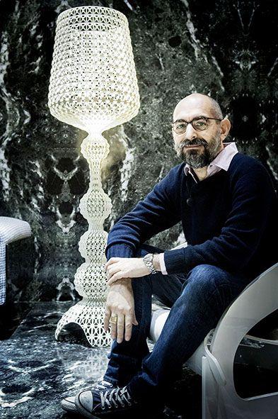 Ferruccio Laviani With Kabuki Lamp Interior Design In 2018