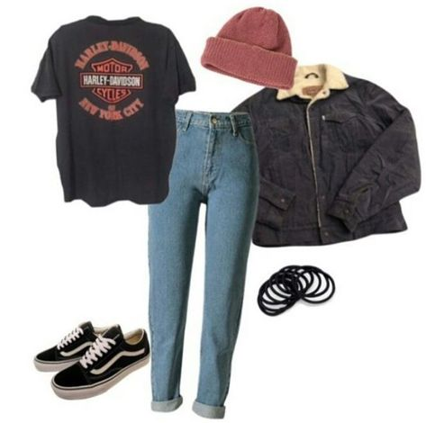 new hipster outfits Hipster Outfits Winter, Cute Casual Outfits, Grunge Outfits, Retro Outfits, Vintage Outfits, Simple Edgy Outfits, Pop Punk Fashion, Cute Fashion, 90s Fashion