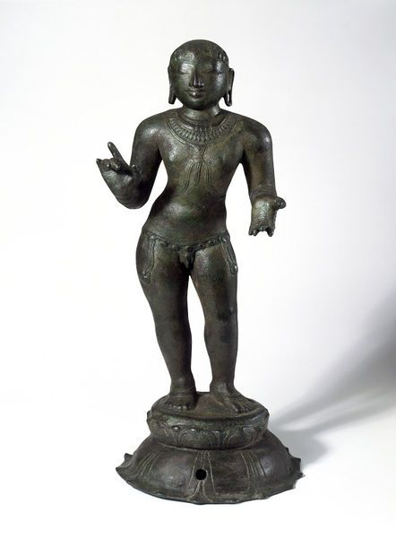 Figure. Madras, India. 11th century. Copper alloy. © Victoria and Albert Museum, London