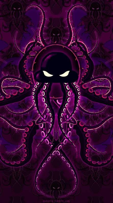 Octopus Psychedelic Art Fractal Art Art