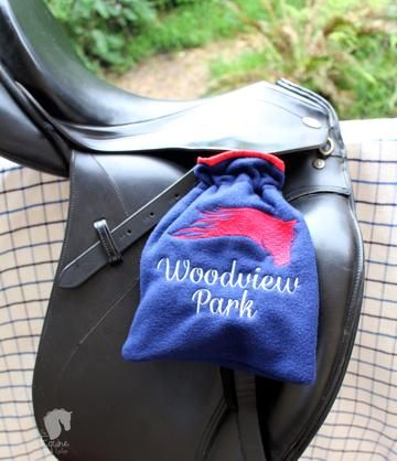 Iron Covers Stirrup Protectors English Bags  Embroidered Dressage