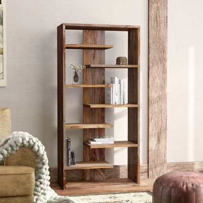 Standard Bookcases You'll Love in 2020 Diy Wood Projects, Home Projects, Diy Wood Crafts, Diy Furniture Projects, Standing Shelves, Diy Home Decor, Room Decor, Diy Holz, Furniture Decor