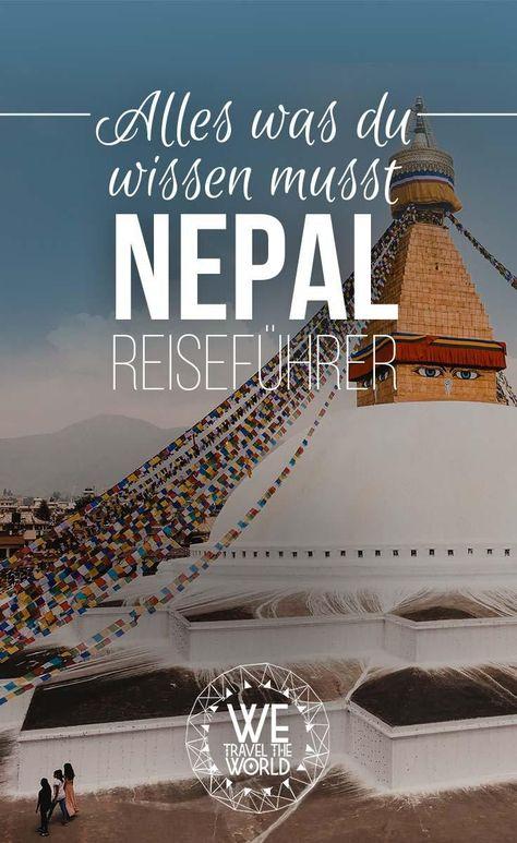 Bester Nepal Reiseführer Empfehlung – Alles was du wissen musst #reisetipps #nepal #trekking #reiseführer