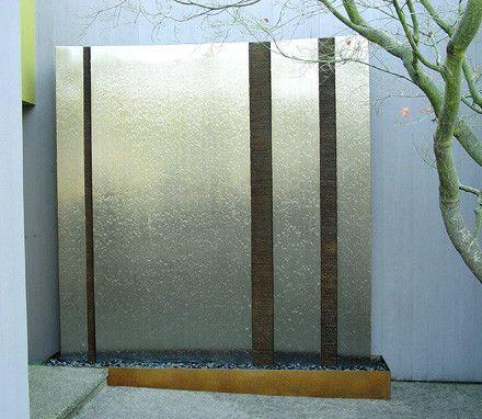 Parete d'acqua modulare componibile a piacere, con l'abbinamento dei. 15 Ottime Idee Su Pareti D Acqua Pareti D Acqua Acqua Giardino Moderno